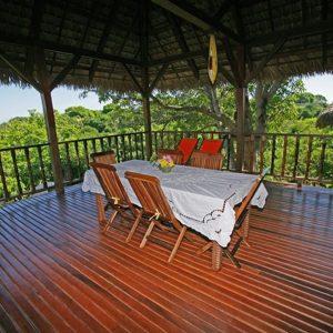 Grande terrasse villa haut de gamme nosy be madagascar