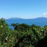 vue panoramique sur terrain à Nosy Faly à Madagascar