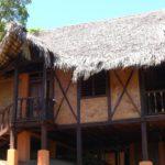 Vue extérieur terrasse pilotis villa Nosy Be Madagascar